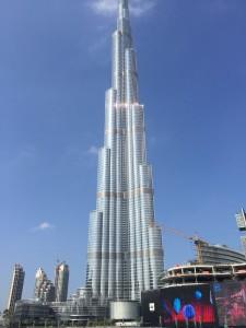 Burj Khalifa, o mais alto do mundo