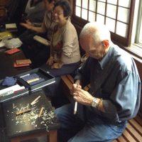 """Colaboração na Reconstrução da Área Afetada pelo Grande Terremoto no Leste do Japão – Colaboração na Criação de Chashaku para a """"Conferência Nacional Tankôkai 2016 em Iwaki"""""""
