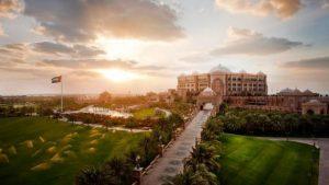 O Emirates Palace Hotel é também uma casa de hóspedes VIP