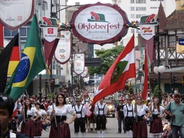 Desfile de abertura