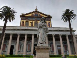 Basílica Papal de São Paulo Extramuros.